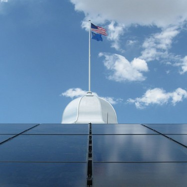 Could the entire U.S. be powered by solar from just …
